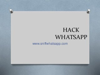 How to hack whatsapp account without target phone