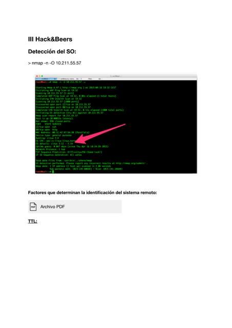 III Hack and beers: evadiendo técnicas de fingerprinting en Linux y Wordpress