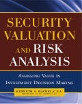 Security Valuation and Risk Analysis