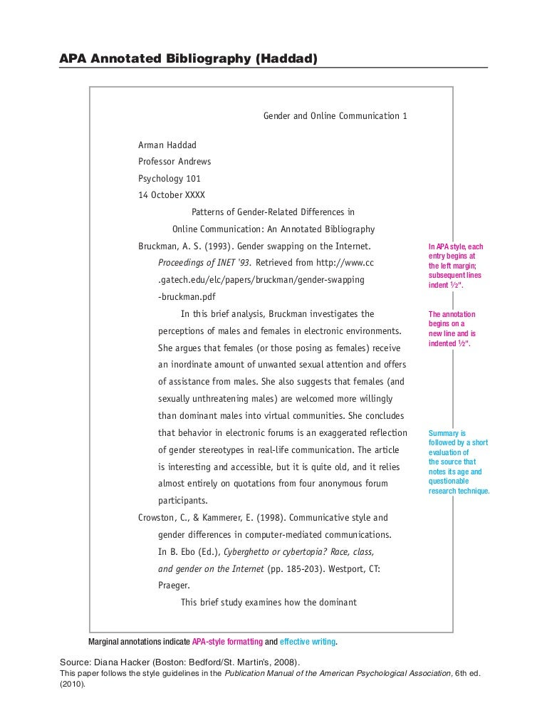 Bedford researcher annotated bibliography