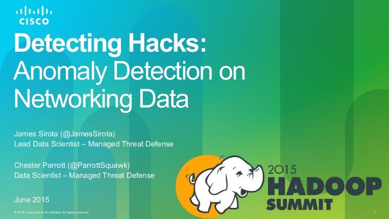Detecting Hacks: Anomaly Detection on Networking Data