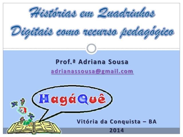 Oficina HagáQuê - NTE16/Vitória da Conquista-BA