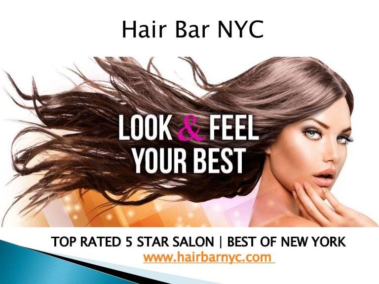 Best Hair Salon in NYC - Hair Bar NYC