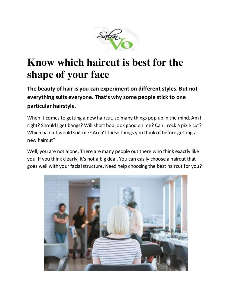 Know Which Haircut Is Best For The Shape Of Your Face