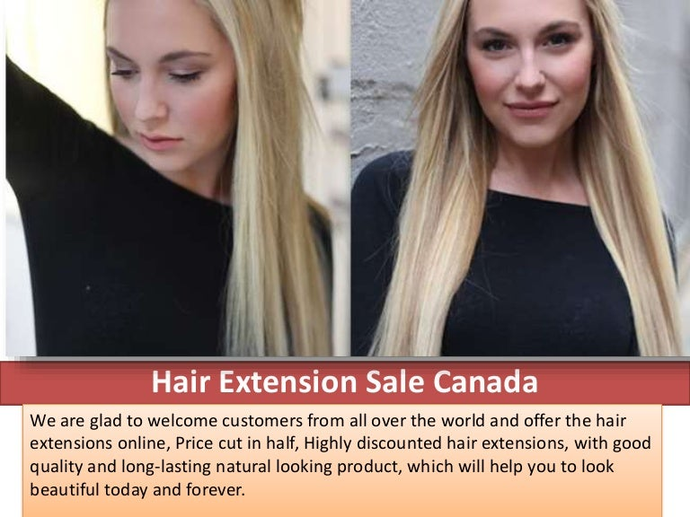 Special Discount On Hair Extensions In Canada