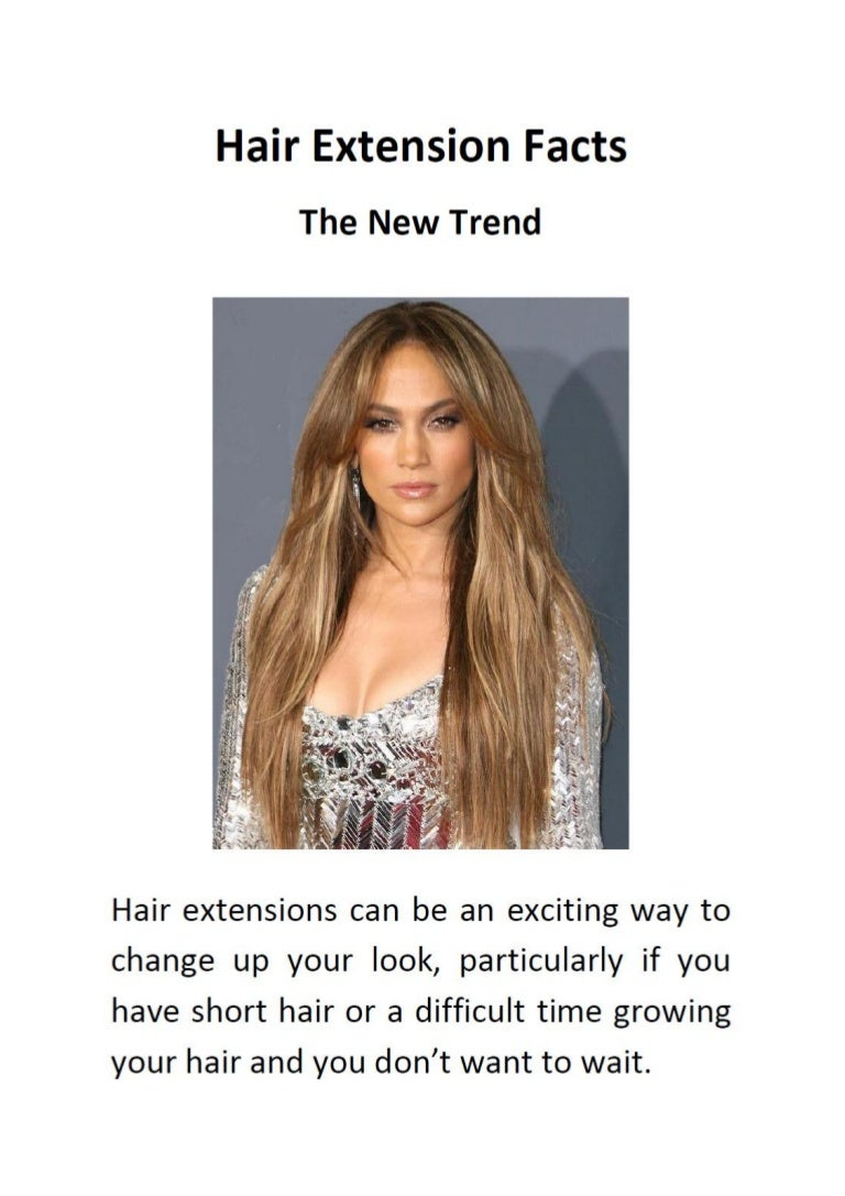 Hair Extension Facts The New Trend
