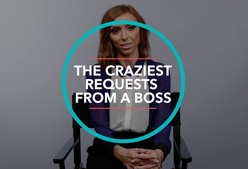 The Craziest Requests from a Boss