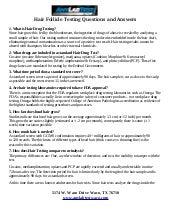 Hair test info sheet