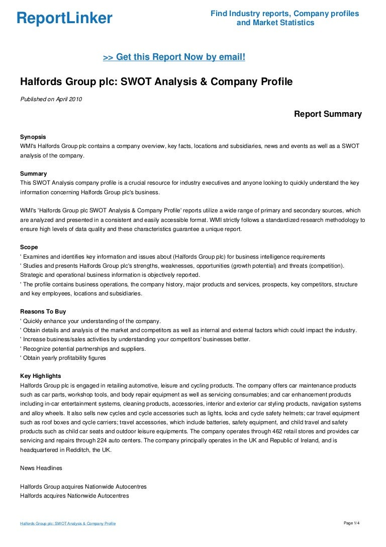 woolworths swot Woolworths limited - swot analysis examines the companys key business structure and operations, history and products, and provides summary analysis of its key revenue lines and strategy.