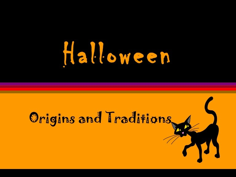 halloween origin traditions