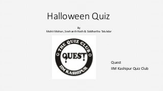 Halloween Horror Quiz