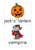 Halloween's vocabulary in color 2