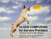 Cloud Computing For Service Providers