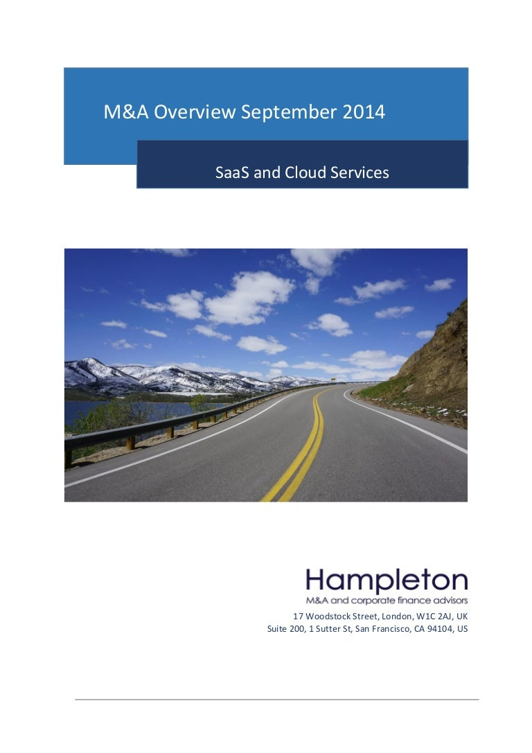 Hampleton SaaS and Cloud Report, September 2014