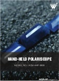Hand Held Polariscope by ACMAS Technologies Pvt Ltd.