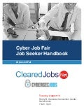 CyberTexas Job Fair Job Seeker Handbook August 14, San Antonio, TX