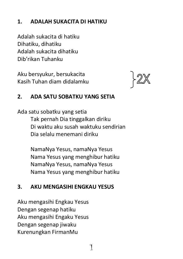 Handbook Lagu Sekolah Minggu