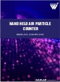 Hand Held Air Particle Counter by ACMAS Technologies Pvt Ltd.