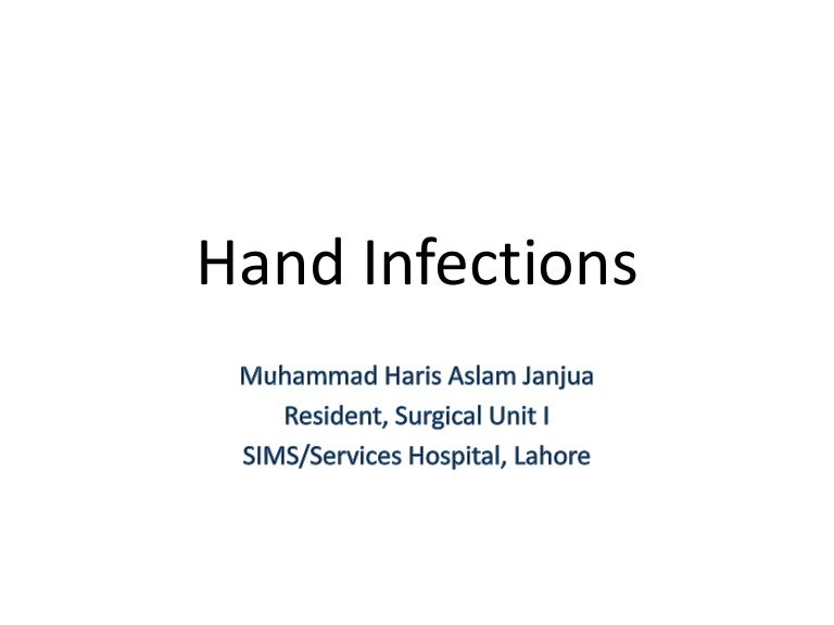 Hand Infections