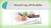 Handling of audits   Irs Attorney