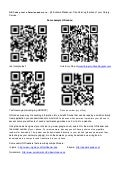 Handout for QR codes, text a librarian and more...
