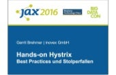 Hands-on Hystrix - Best Practices und Stolperfallen