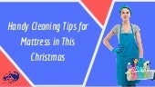Handy Cleaning Tips for Mattress in This Christmas | Clean House Melbourne