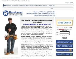 Handyman Services Madison Wi