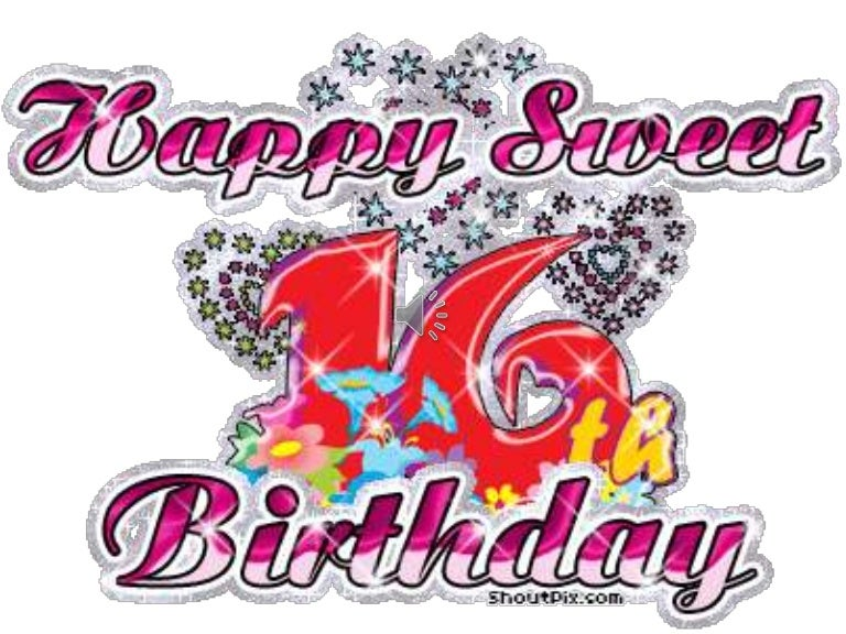 Анимационные открытки с днем рождения девочке 16 лет, днем семьи музыкальные