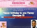 Happy birthday to you Fanny Georges and the Woman of the day!!! From Ronald Tintin, Super Professeur and Ronning Against Cancer on Thursday, June 16th 2016