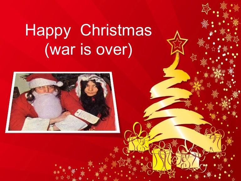 Happy christmas (war is over) - John Lennon