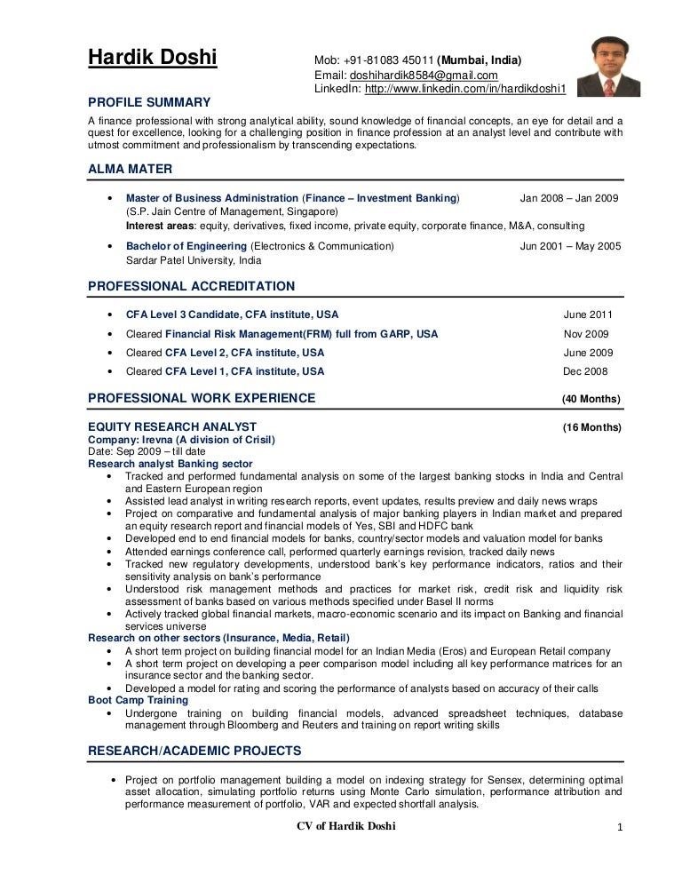 Marketing Researcher Sample Resume Sarahepps Com