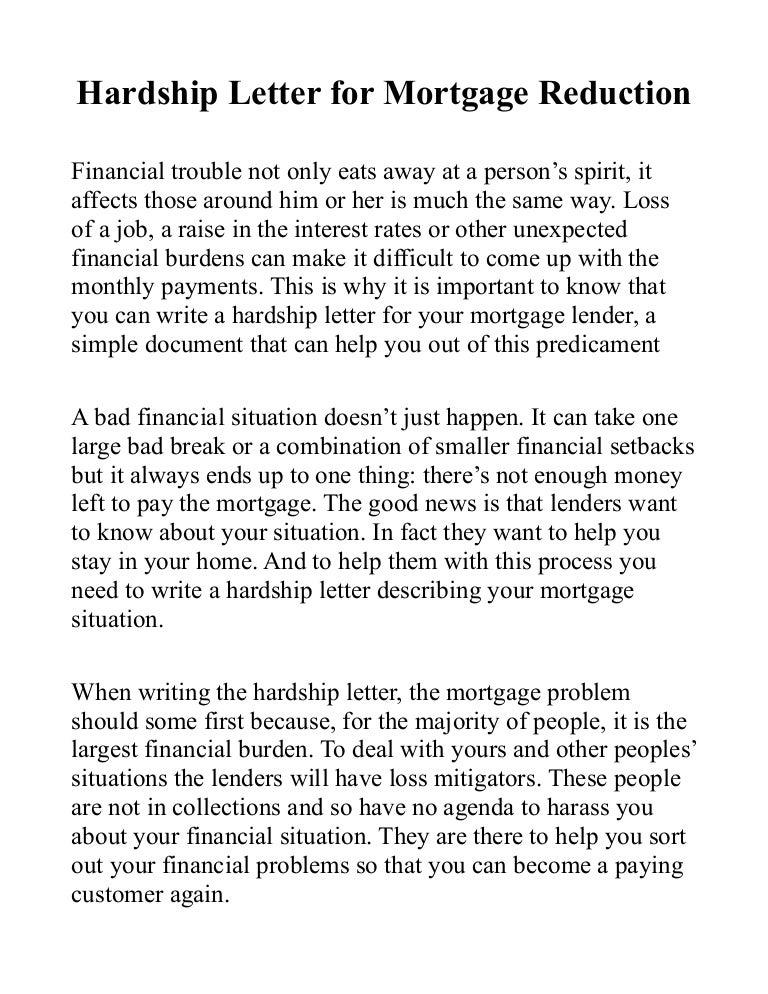 Mortgage Hardship Letter Template from cdn.slidesharecdn.com