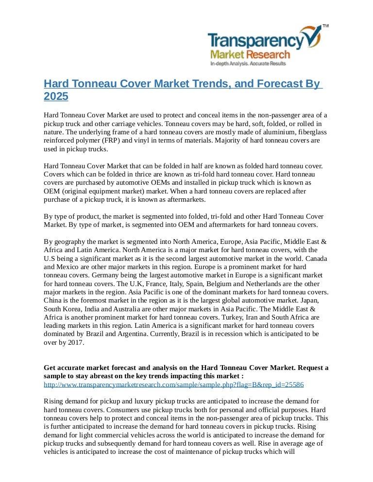 Hard Tonneau Cover Market