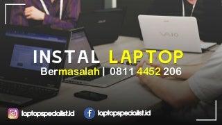HP 0811 4452 206, Jasa Instal Laptop Acer 4752 Makassar