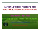 Harga lipsense Senegence - 0812-1234-6675, by distributor dnova beauty house