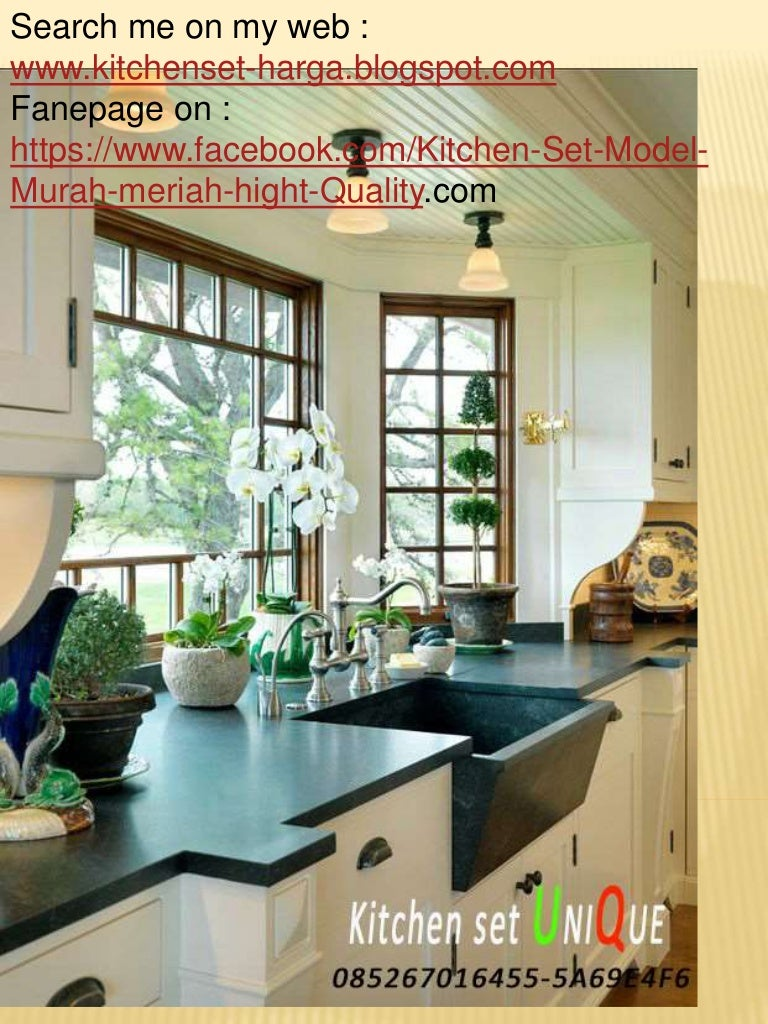 harga kitchen set cafe kitchen set minimalis dengan mini