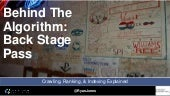 Behind the Algorithm: Back Stage Pass - Ryan Jones