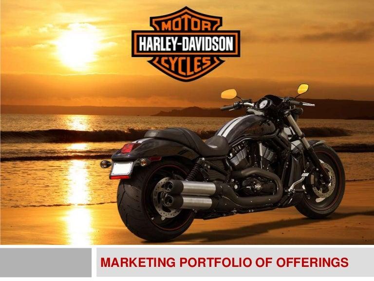 Harley Davidson Advertising: Harley Davidson Marketing Portfolio