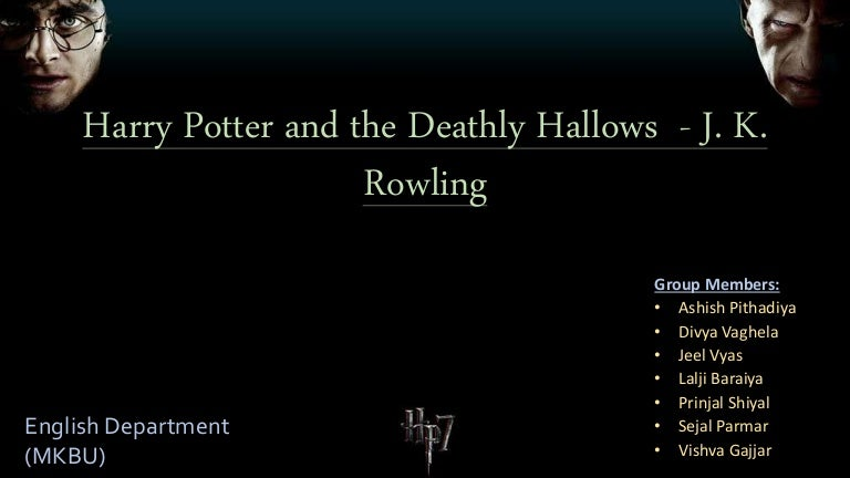 Harry Potter And J K Rowling