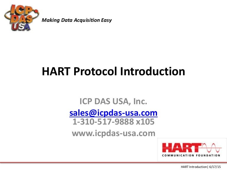 Hart Protocol Introduction