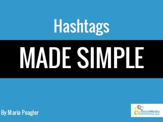 share and look up hashtags definitions