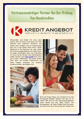 Haus kredit