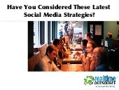 Have you Considered these Latest Social Media Strategies