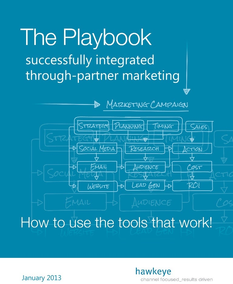 the playbook successfully integrated through partner marketing