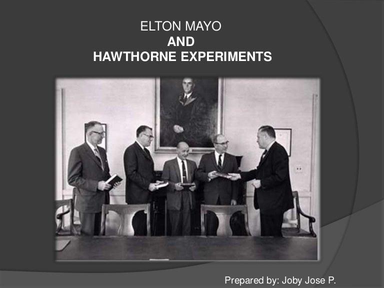 Hawthrone Studies Explained