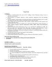 hayat it recruiting resume