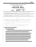 PA House Bill 2277 - Requires $2M Bond to Drill a Shale Well