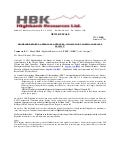 "Highbank Reports: Approvals & Updates-""Swamp Point North Aggregate Project"""