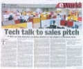 Tech Talk To Sales Pitch - IT Firms Using Innovative Marketing Initiatives